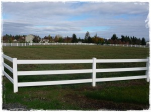 Check your horse fencing in Oregon