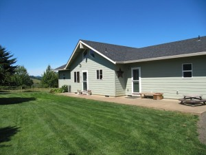 Front of home on approx 5 acres for sale